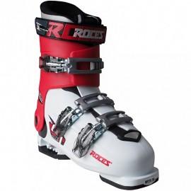 Buty narciarskie Roces Idea Up biało-czerwono-czarne JUNIOR 30-35