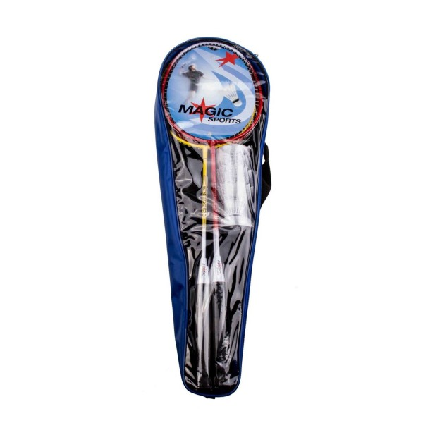 Badminton Magic-Speedbird 4 rakietki + 3 lotki