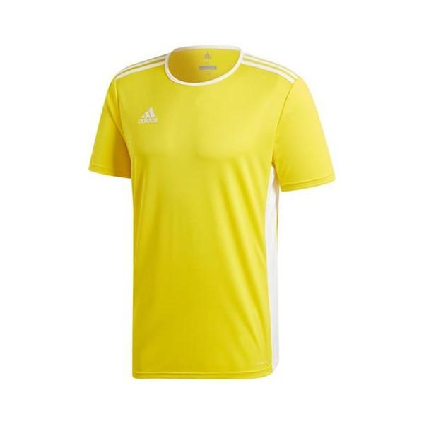 Koszulka adidas Entrada 18 JR żółta CD8390