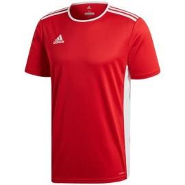 Koszulka adidas Entrada 18 JR czerwona CF1038
